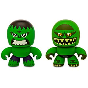 Marvel Mini Muggs Hulk and Abomination Figures by Hasbro -- 2-Pc.