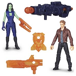 Star-Lord and Gamora Action Figure Set - Marvels Guardians of the Galaxy