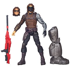 Winter Soldier Action Figure - Build-A-Figure Collection - 6
