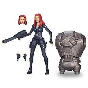 Black Widow Action Figure - Build-A-Figure Collection - 6