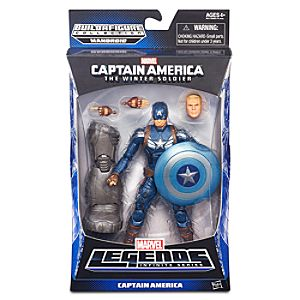 Captain America Action Figure - Build-A-Figure Collection - 6