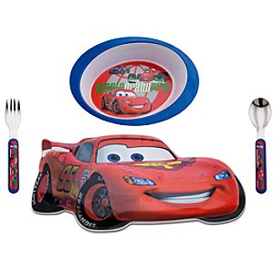 Cars 2 Meal Time Magic Set -- 4-Pc.