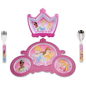 Disney Princess Meal Time Magic Set -- 4-Pc.
