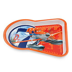 Dusty Crophopper Plate - Planes: Fire & Rescue