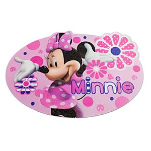 Glitter Minnie Mouse Placemat