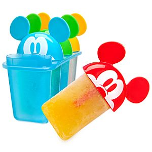 Summer Brights Mickey Mouse Popsicle Molds -- 4-Pc.