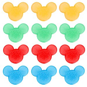 Summer Brights Mickey Mouse Ice Cubes Set -- 12-Pc.