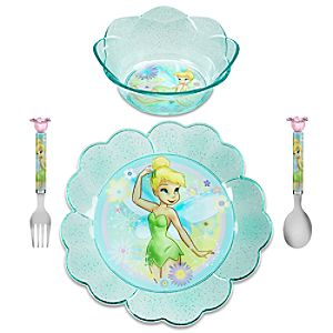 Tinker Bell Meal Time Magic Set -- 4-Pc.