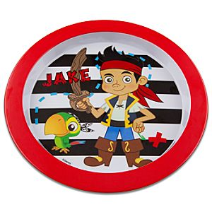 Jake and the Never Land Pirates Plate