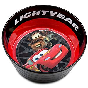 Cars 2 Tow Mater and Lightning McQueen Bowl