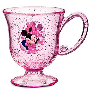 Glitter Minnie Mouse Cup