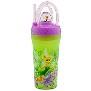 Fountain Tinker Bell Tumbler with Straw