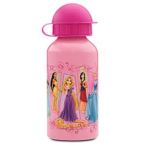Aluminum Disney Princess Water Bottle -- Small