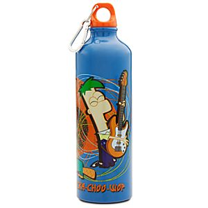 Aluminum Phineas and Ferb Water Bottle