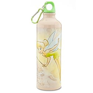 Aluminum 25th Anniversary Tinker Bell Water Bottle