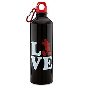 Aluminum Love Mickey Mouse Water Bottle