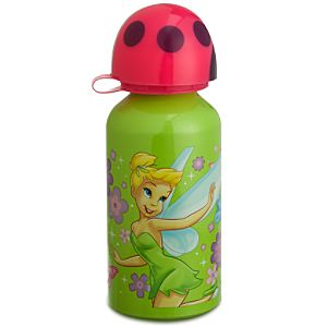 Aluminum Tinker Bell Water Bottle -- Small