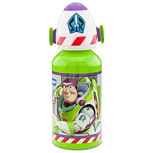 Aluminum Buzz Lightyear Water Bottle -- Small