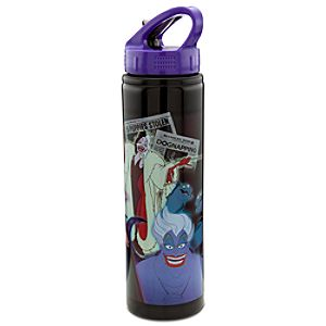 Stainless Steel Disney Villains Water Bottle