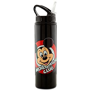 Stainless Steel Mickey Mouse Club Water Bottle