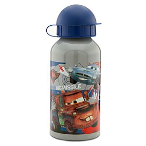 Aluminum Cars 2 Finn McMissile and Tow Mater Water Bottle - Small
