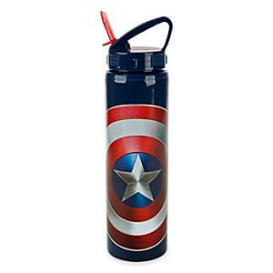 Captain America Water Bottle