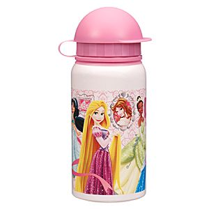 Disney Princess Aluminum Water Bottle - Small