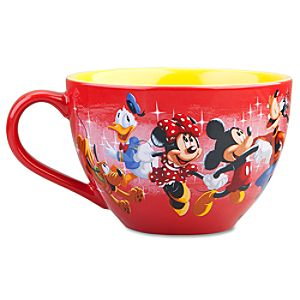 Disney Store 25th Anniversary Mickey Mouse and Friends Mug