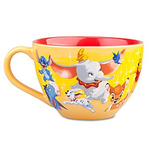 Disney Store 25th Anniversary Furry Pals Mug