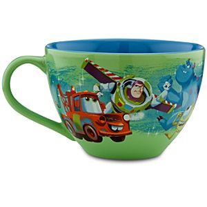 Disney Store 25th Anniversary Pixar Pals Mug