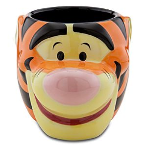 25th Anniversary Sculptured Tigger Mug
