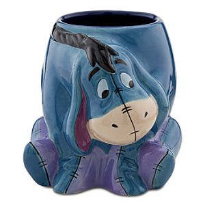 25th Anniversary Sculptured Eeyore Mug