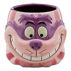 Sculptured Cheshire Cat Mug