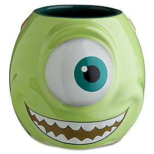25th Anniversary Sculptured Mike Wazowski Mug