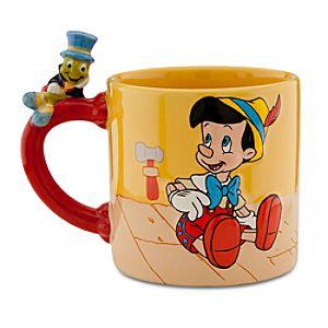 Disney Store 25th Anniversary Pinocchio Mug