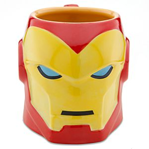 Sculptured Iron Man Mug