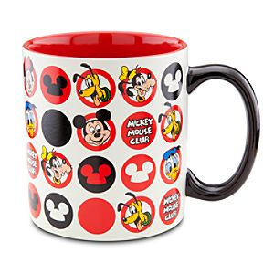 Icon Pattern The Mickey Mouse Club Mug