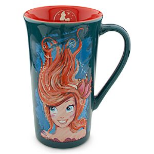 The Art of Ariel Mug - Pumpkin/Teal
