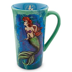 The Art of Ariel Mug - Blue/Green