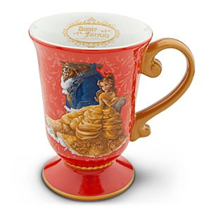 Belle and Beast Mug - Disney Fairytale Designer Collection