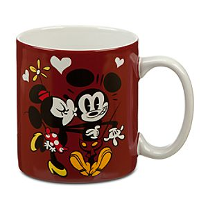Mickey and Minnie Mouse Mug