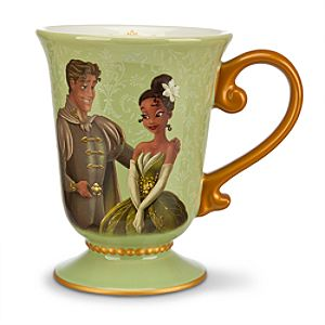 Tiana and Prince Naveen Mug - Disney Fairytale Designer Collection