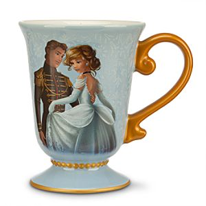 Cinderella and Prince Charming Mug - Disney Fairytale Designer Collection