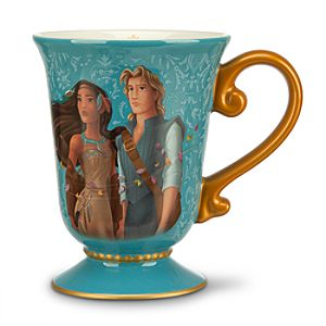 Pocahontas and John Smith Mug - Disney Fairytale Designer Collection