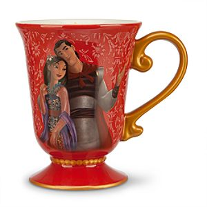 Mulan and Li Shang Mug - Disney Fairytale Designer Collection