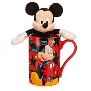 Mickey Mouse Mug with Plush