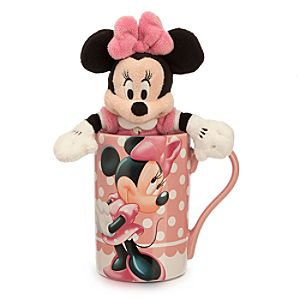 Minnie Mouse Mug with Plush