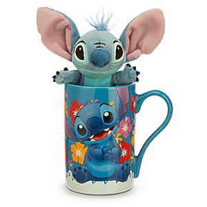 Stitch Mug with Plush