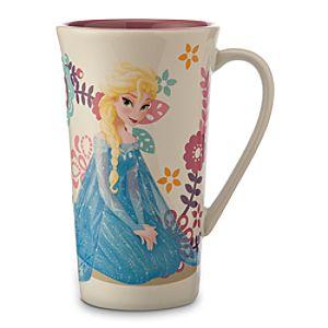 Elsa Snowflake Mug