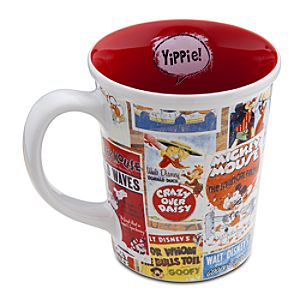 Disney Nostalgia Mickey Mouse Mug